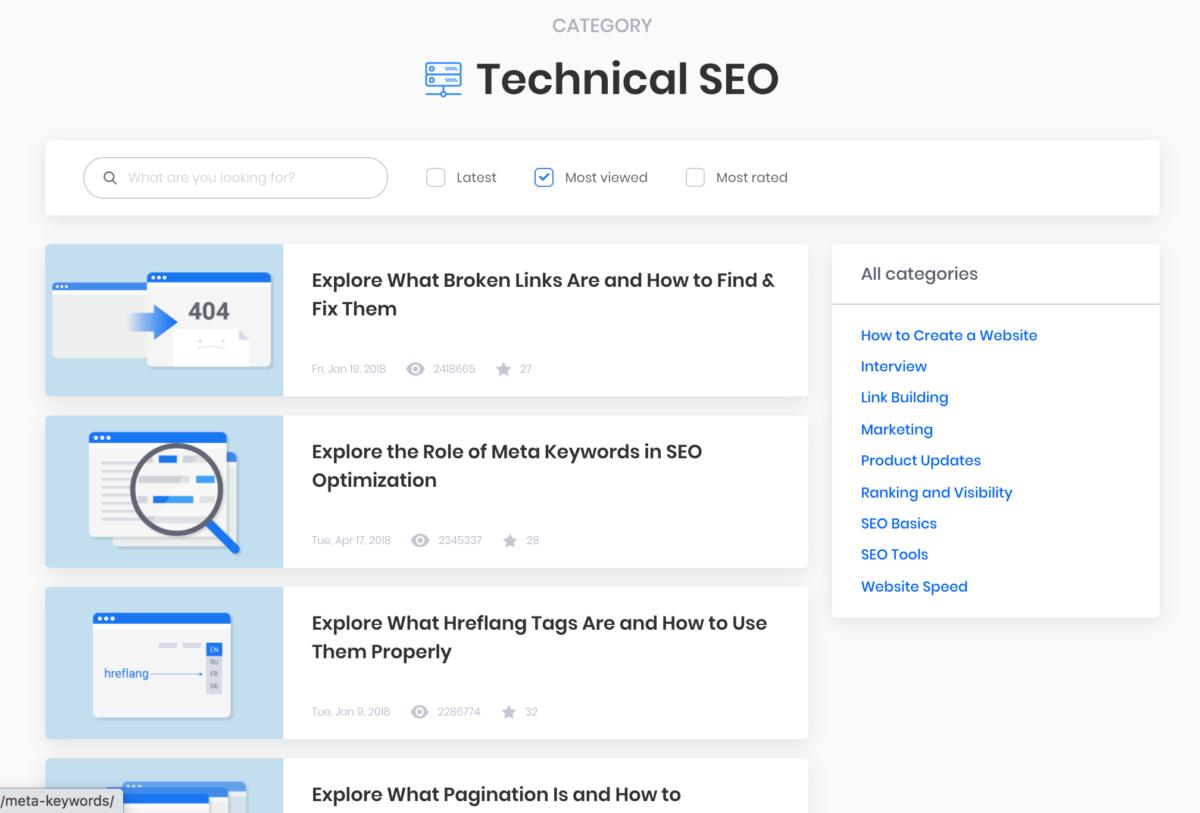 sitechecker blog design