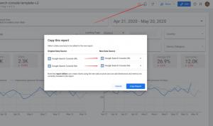 google data studio keyword ranking